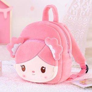 粉色女孩背包