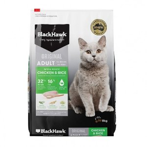 Black Hawk Chicken Adult Cat Food 8kg