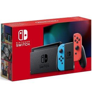 只要€321 收经典红蓝惊喜补货:Nintendo Switch 全网断货一机难求 德亚自营 补货还有折扣