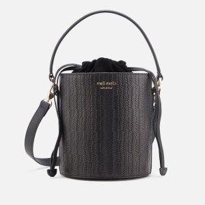 Meli Melo黑色水桶包