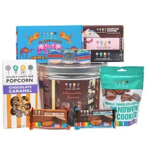Dealmoon Exclusive 35% Off with Free Shipping DYLAN'S CANDY BAR CHOCOLATE LOVERS GIFT BASKET