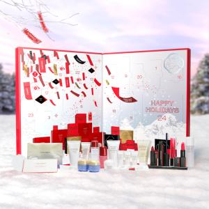 变相2.6折!每个产品仅£3.4!Shiseido 圣诞美妆日历补货打折!24件明星单品!