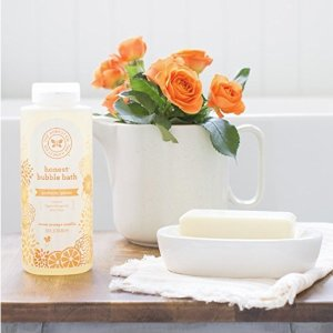 $3.61Honest Perfectly Gentle Hypoallergenic Bubble Bath With Naturally Derived Botanicals, Sweet Orange Vanilla, 12 Fluid Ounce