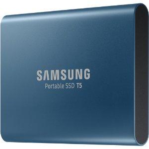 $79.99Samsung Portable T5 500GB 移动固态硬盘