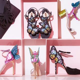 7折 官网独家配色+码全Sophia Webster官网年终大促,蝴蝶鞋一律$275