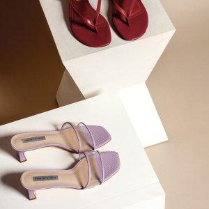 低至4折 乐福鞋$49Charles&Keith官网 美鞋专场 高级感十足 平价通勤又时髦