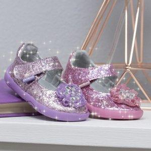 $13.49就有学步鞋 比黑五低即将截止:pediped OUTLET 50余款童鞋全部$18.74以下两日闪购