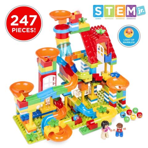 封面STEM管道玩具 $44.99+包邮史低价:Best Choice Products 儿童家具,玩具车,儿童亮灯帐篷等 优惠