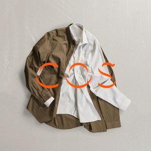 低至5折+额外8折最后一天:COS官网 精选男女服饰配饰大促