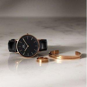3折起!手表手镯套装仅€65Daniel Wellington 超值折扣场又来了 张艺兴、李圣经都喜欢的简约设计