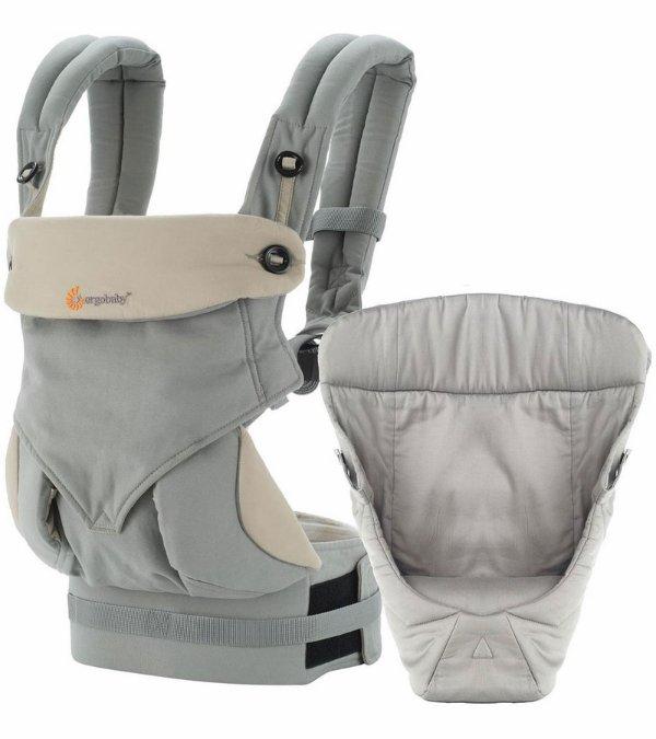 360 四式婴儿背带+婴儿垫套装