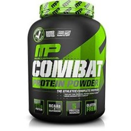 Amazon.com: MusclePharm Combat Protein Powder - Essential blend of Whey, Isolate, Casein and Egg Protein with BCAA's and Glutamine for Recovery, Chocolate Milk, 4 Pound: Health & Personal Care