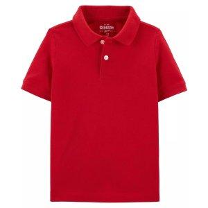 Oshkosh买一送一男小童Polo衫