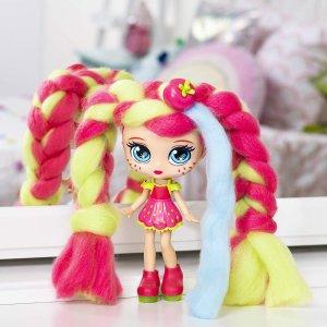 $26.99 体验造型师的乐趣Candylocks 嗅觉视觉双重挑战娃娃造型 草莓味的洋娃娃