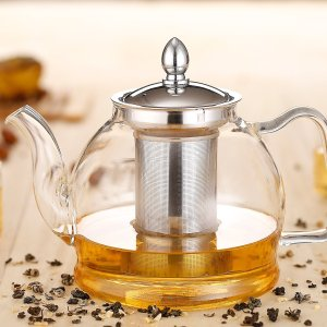 $16.99Hiware 1000ml Glass Teapot with Removable Infuser