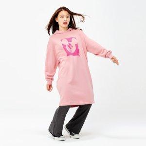 Uniqlo米老鼠卫衣裙
