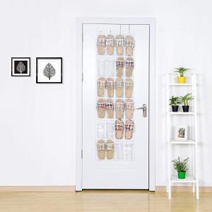 仅售€10.99 节省空间Umi 透明收纳袋 门后一挂 柔软好收纳 收纳拖鞋/杂物/清洁物品