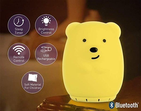 LumiPet 熊熊造型小夜灯