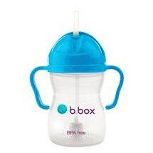 $12.99B.box 婴幼儿重力球吸管杯防漏 240ml (蓝色)