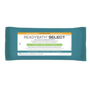 Medline 抑菌湿纸巾清洁布 8张每包,共30包