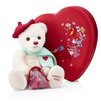 Godiva 毛绒小熊+情人节巧克力丝绒礼盒