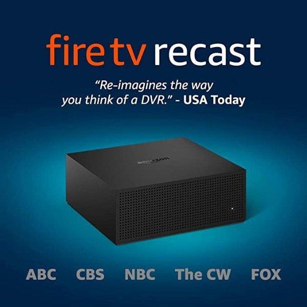 Fire TV Recast 1TB 4频道 1TB 150小时