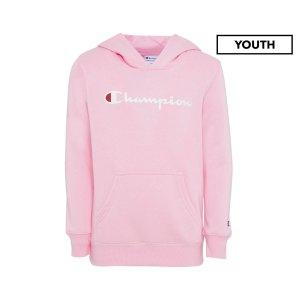 Champion(冠军)Youth 粉色卫衣