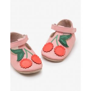 BodenSupersoft Leather Shoes - Almond Blossom Pink | Boden US