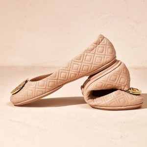 Up to 60% Off + 30% Off No MinimumEnding Soon: Tory Burch Classic Minnie Ballet Shoes Sale