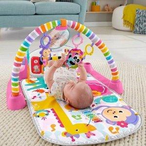 $44.99(原价$64.99)Fisher-Price 费雪 婴幼儿小钢琴版 爬行毯、游戏垫