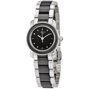 Extra $10 OffTISSOT T-Trend Ceramic Diamond Ladies Watches 2 styles