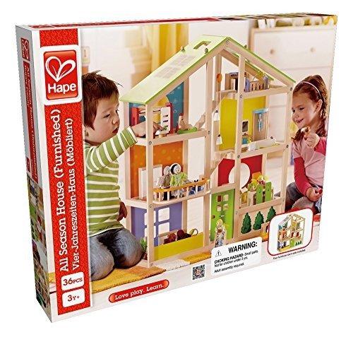 获奖玩具:三层娃娃屋