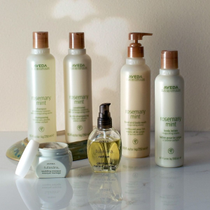 Today Only: Free 2nd day shipping + Full Size Rosemary Mint Hand & Body Wash ($21 Value!) + Pick 4 samplesWith $50 Ordersr @ Aveda