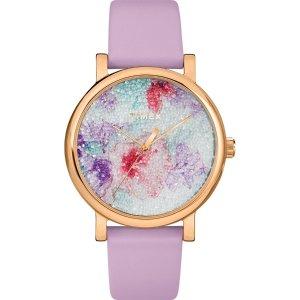 Timex施华洛世奇水晶腕表