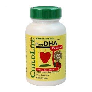 CHILDLIFE精纯DHA 90粒软胶囊