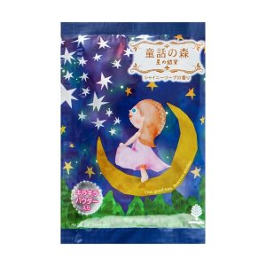 日本KOKUBO小久保 森林系童话浴盐 星星银元 月亮风 皂香 50g