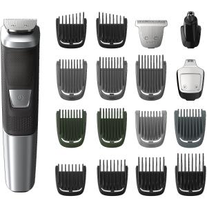 $34.96(原价$49.99)史低价:Philips Multigroom 5000系电动剃须/理发/造型修剪器17件套