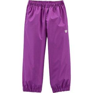Oshkosh14Splash 紫色裤子