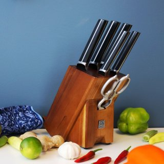 $111.43Dealmoon Exclusive: Hanmaster 7-Piece Knife Set Kitchen Knife With Superior High Carbon Stainless Steel Blades For Precision And Accuracy