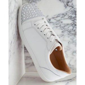 Christian Louboutin铆钉红底鞋
