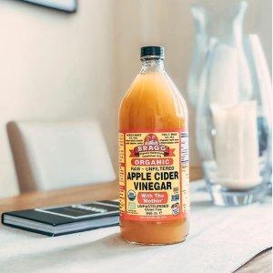 第二件5折+额外7.5折Holland Barrett有机纯天然苹果醋 减脂排毒 祛痘护发