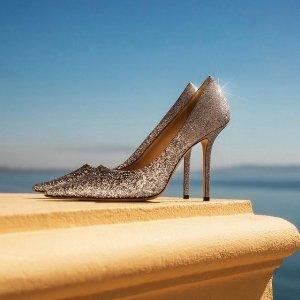 低至$156+免邮JIMMY CHOO Outlet 美鞋私卖会 $264收亮晶晶高跟鞋