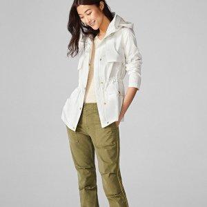 低至3折 $74收卡其色风衣Cole Haan 秋季外套热卖 换季保暖必备