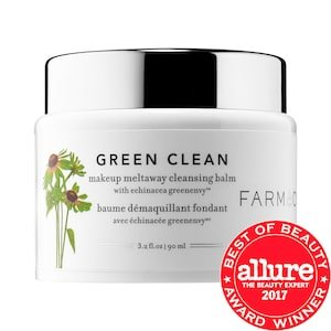 Green Clean Makeup Meltaway Cleansing Balm with Echinacea GreenEnvy™ - Farmacy | Sephora