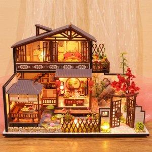 £10.99起 恶作剧之吻类似款DIY mini小屋超值价 手做梦幻场景 日夜装饰都好看