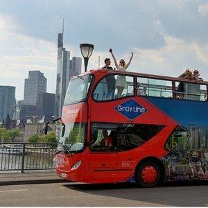 团购仅5折法兰克福 观光巴士2小时的城市观光 2人仅€19.9