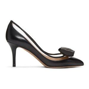 Valentino蝴蝶结高跟鞋