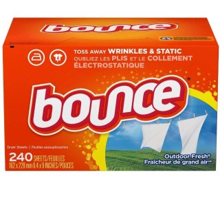 $4.69Bounce Outdoor Fresh Dryer Sheets and Fabric Softener, 240 Count @ Amazon