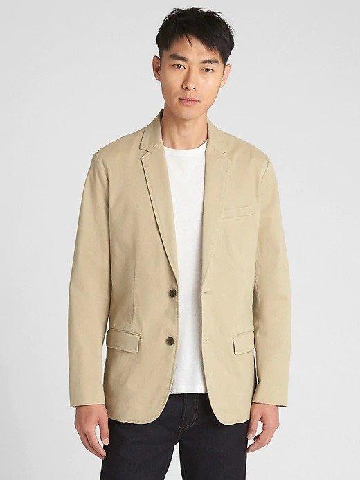 休闲西装外套