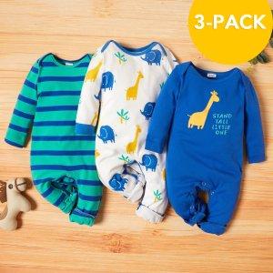 $6.79起独家:PatPat 宝宝美衣3件套套装特卖